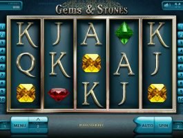 Play free casino game Gems and Stones