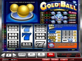 Play free online slot machine Gold Ball