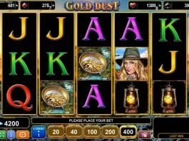 Slot for fun Gold Dust online