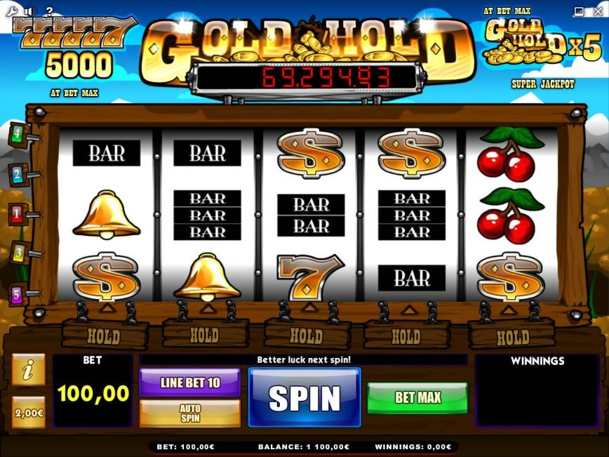 Free online slots with nudges and holds
