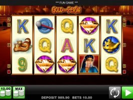 A picture of the slot machine Gold of Persia