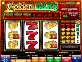 An image of Golden Bars slot game
