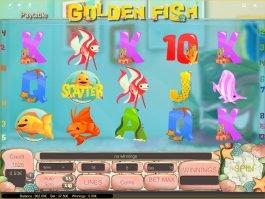 Spin slot game Golden Fish no deposit