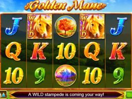 Golden Mane casino slot machine no deposit