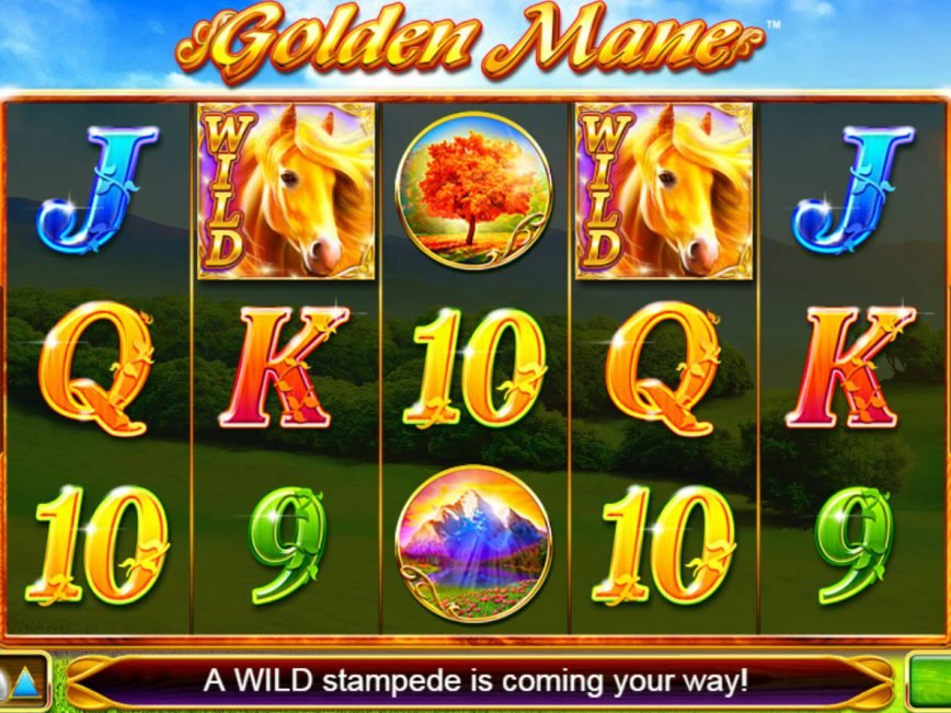Golden Mane casino slot machine no deposit