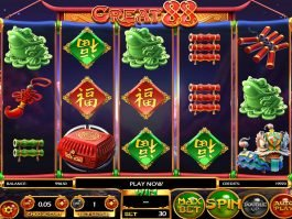 Great 88 no deposit slot machine online