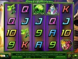 Play casino slot machine Green Lantern