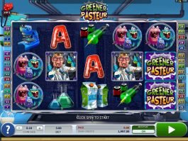 A picture of the slot game Greener Pasteur