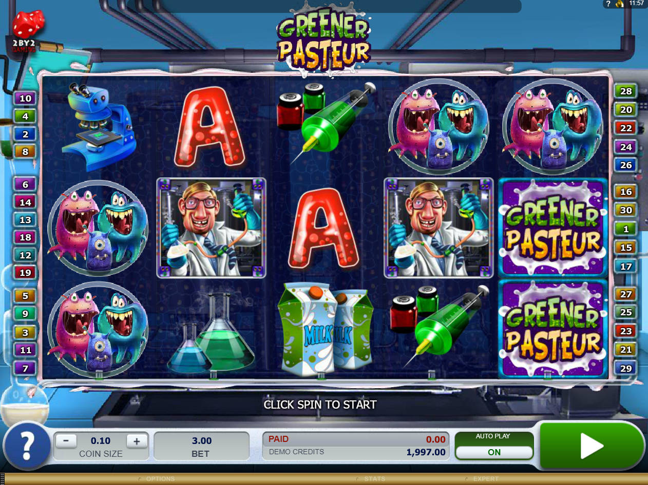 Spiele Greener Pasteur - Video Slots Online