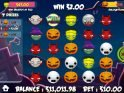 Casino slot machine Halloween Emojis