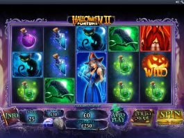 Online free game Halloween Fortune II