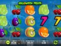 Slot game by Synot Games Halloween Fruits