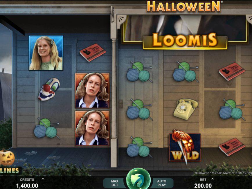No deposit slot machine Halloween