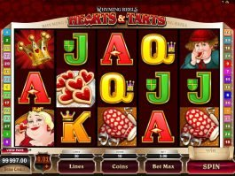 Casino free slot machine Hearts and Tarts