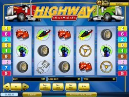 Online slot game Highway Kings no deposit