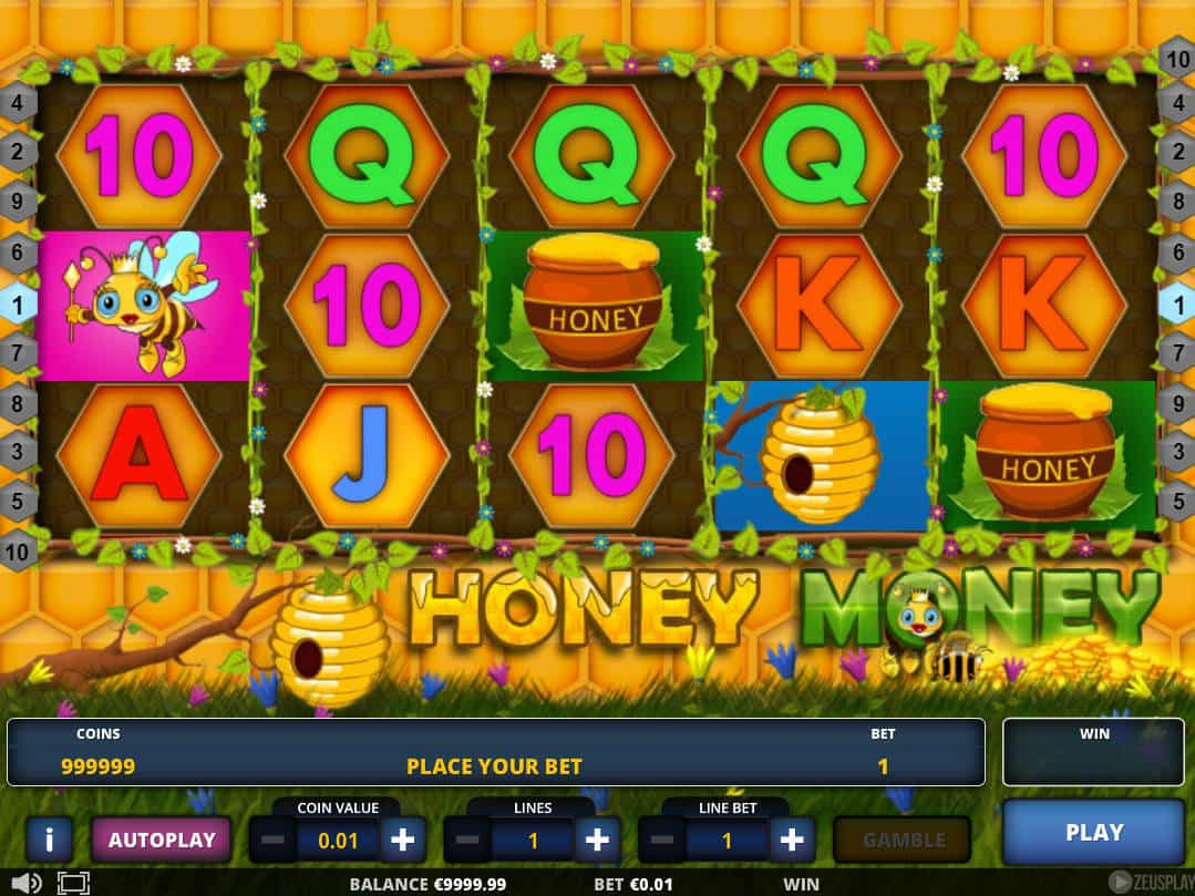 Online slot machine for money