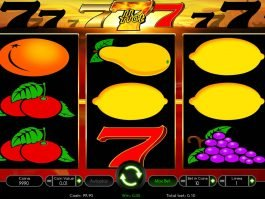 Spin slot machine Hot 777 for fun