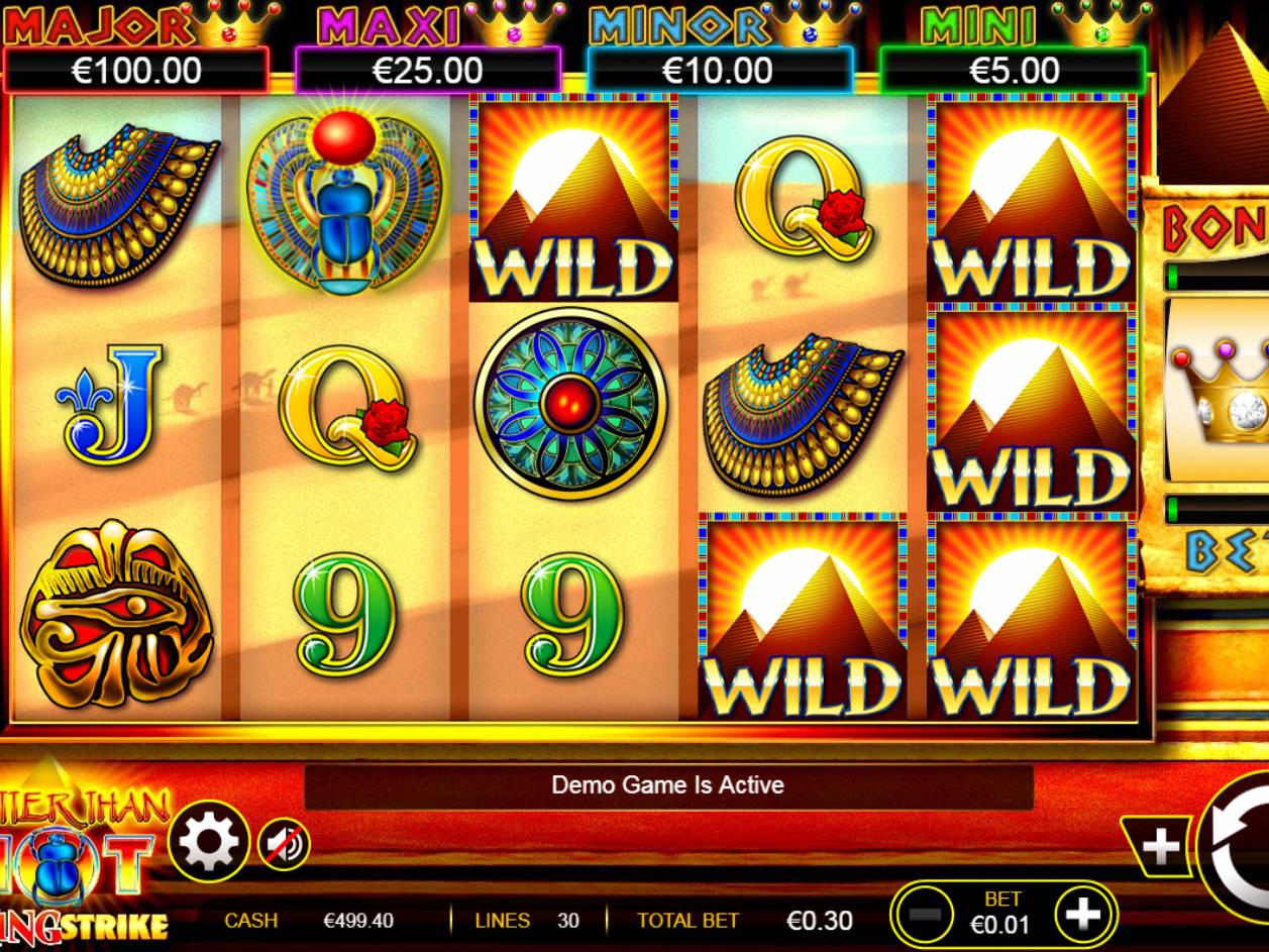 Hotter Than Hot Slot Machine