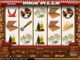 Online slot game Huga Pizza