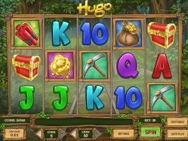 Spin slot machine Hugo for free