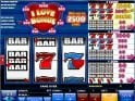 Spin casino slot machine I Love Bonus online
