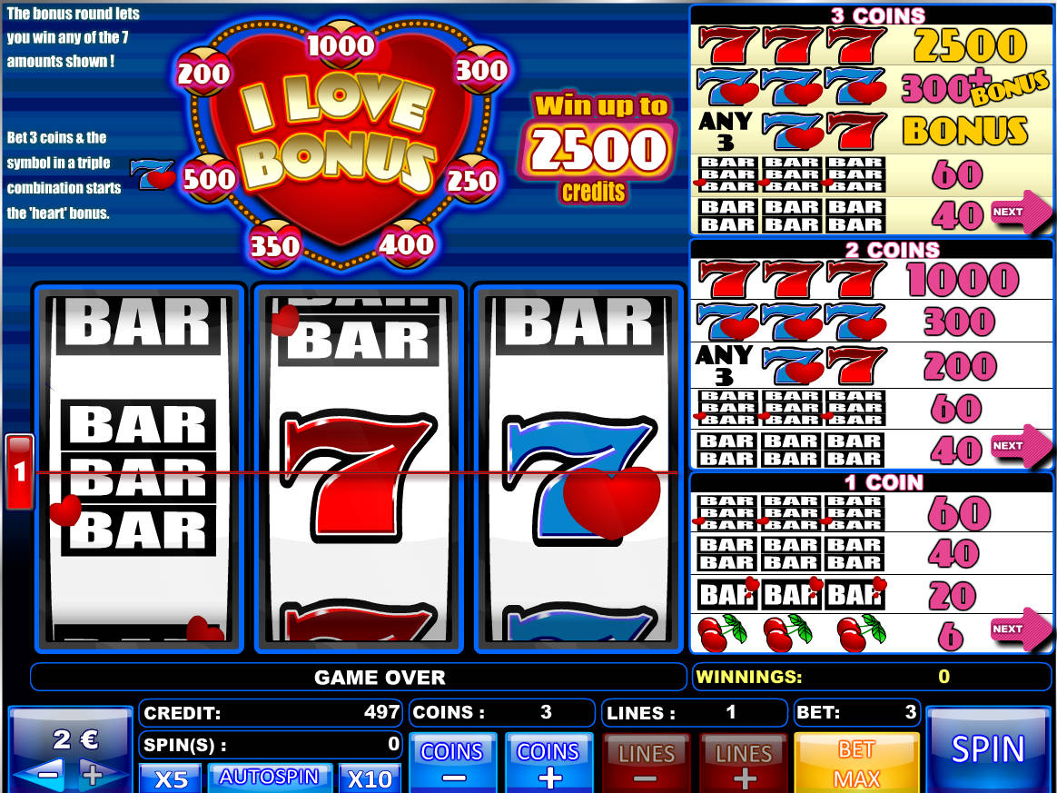 Fun Free Slots With Bonus