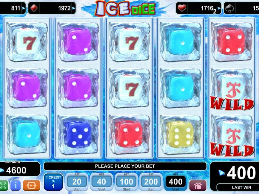 Play slot machine for fun Ice Dice