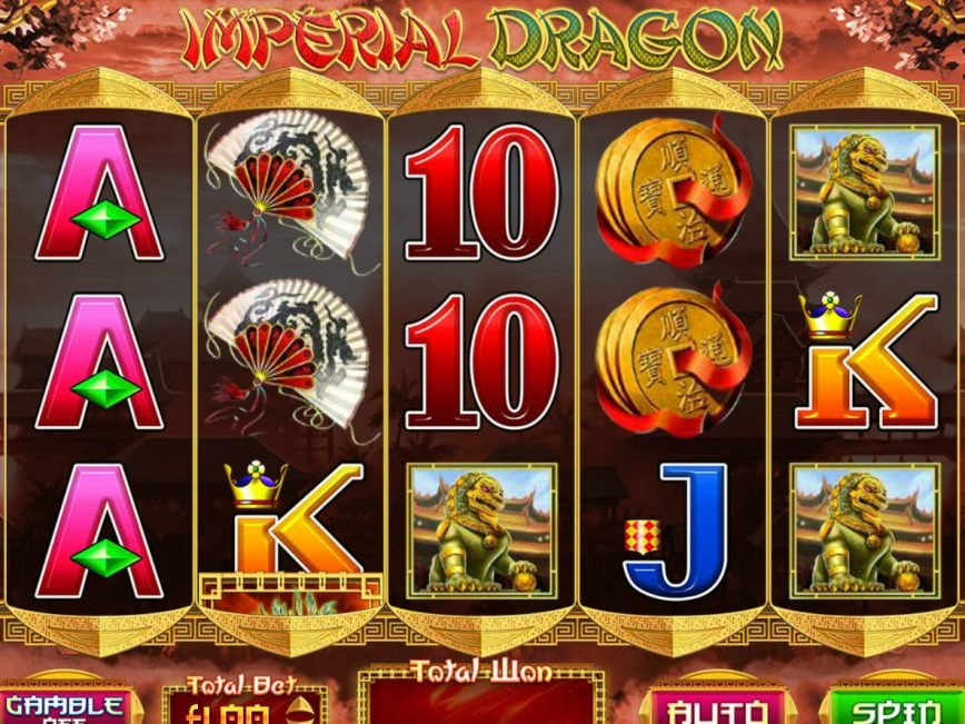 Play casino slot machine Imperial Dragon