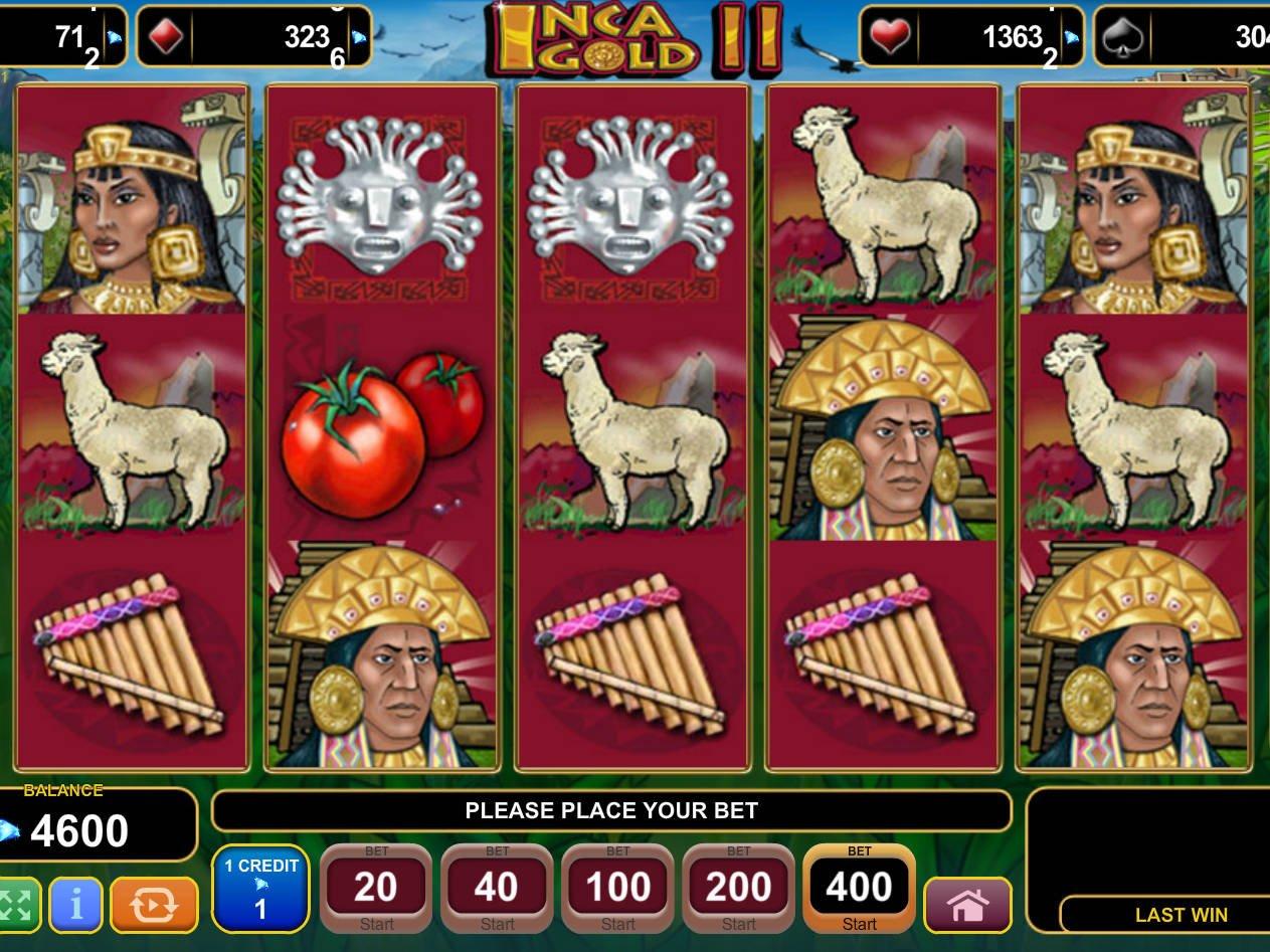 Inca Gold Slot Machine