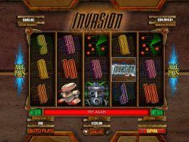 Spin casino free game Invasion online