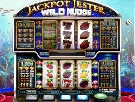 Jackpot Jester Wild Nudge online free slot