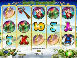 Jack´s Beanstalk free slot machine for fun