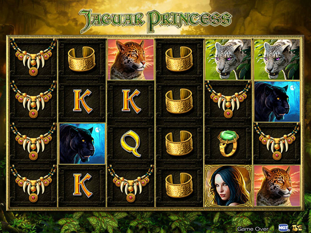Jaguar Princess Slot Machine