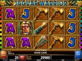 No registration game Jaguar Warrior