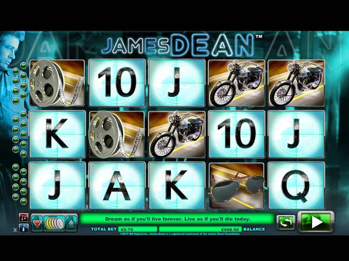 James dean slot review classic slot machine symbols