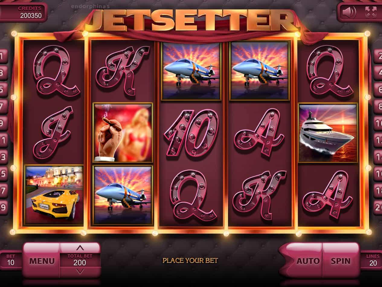 Jetsetter Slot Machine