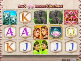 Free slot machine Jewels of India no deposit