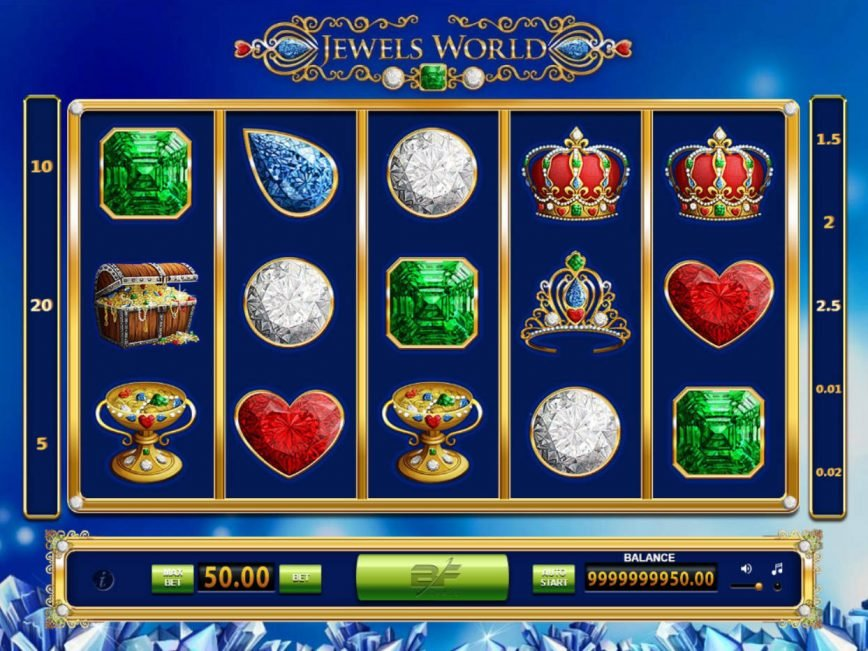 Jewels World online free game