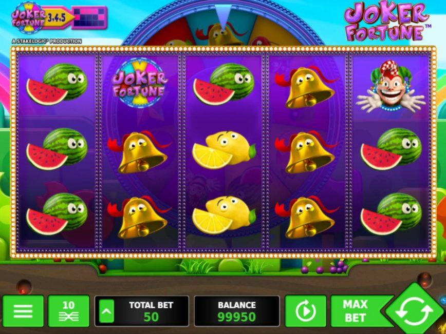 Spin slot game for fun Joker Fortune