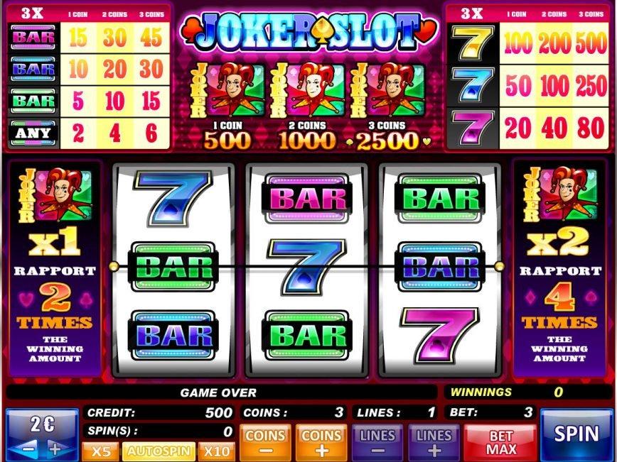 Spin casino free game Joker Slot