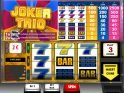 Casino slot machine Joker Trio online