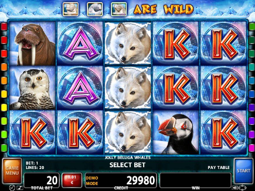 Slot machine Jolly Beluga Whales with no deposit