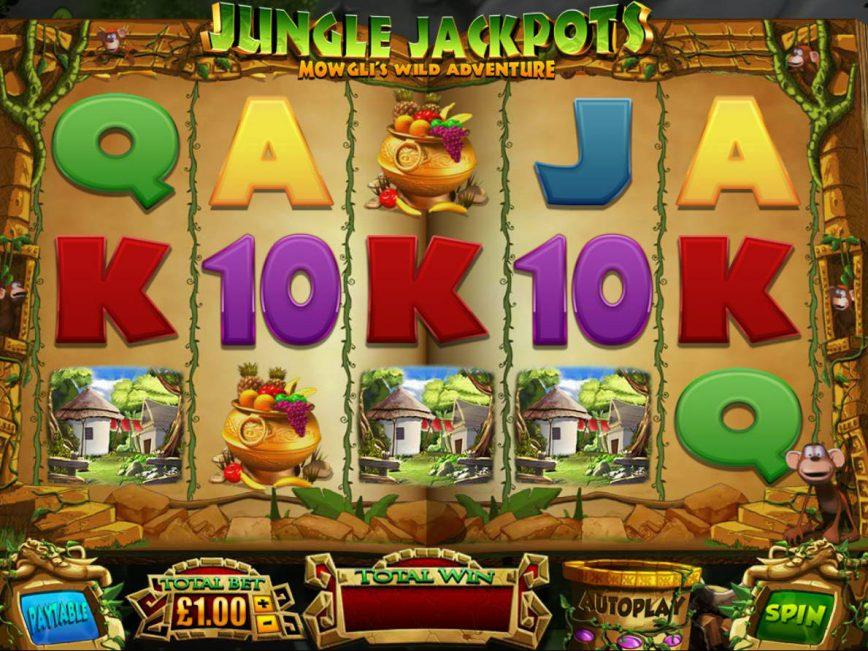 Casino free game Jungle Jackpot no deposit