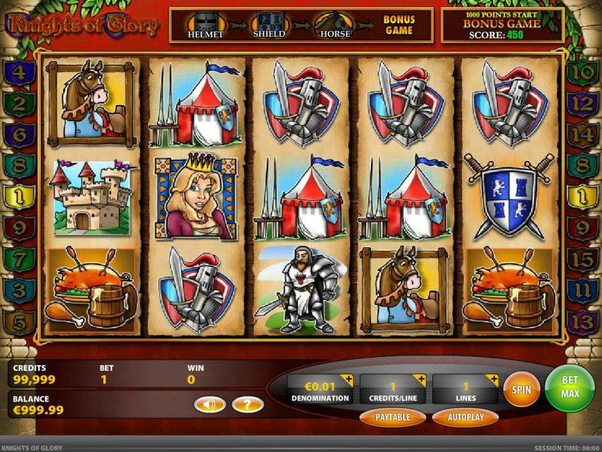 Knights of Glory free slot machine