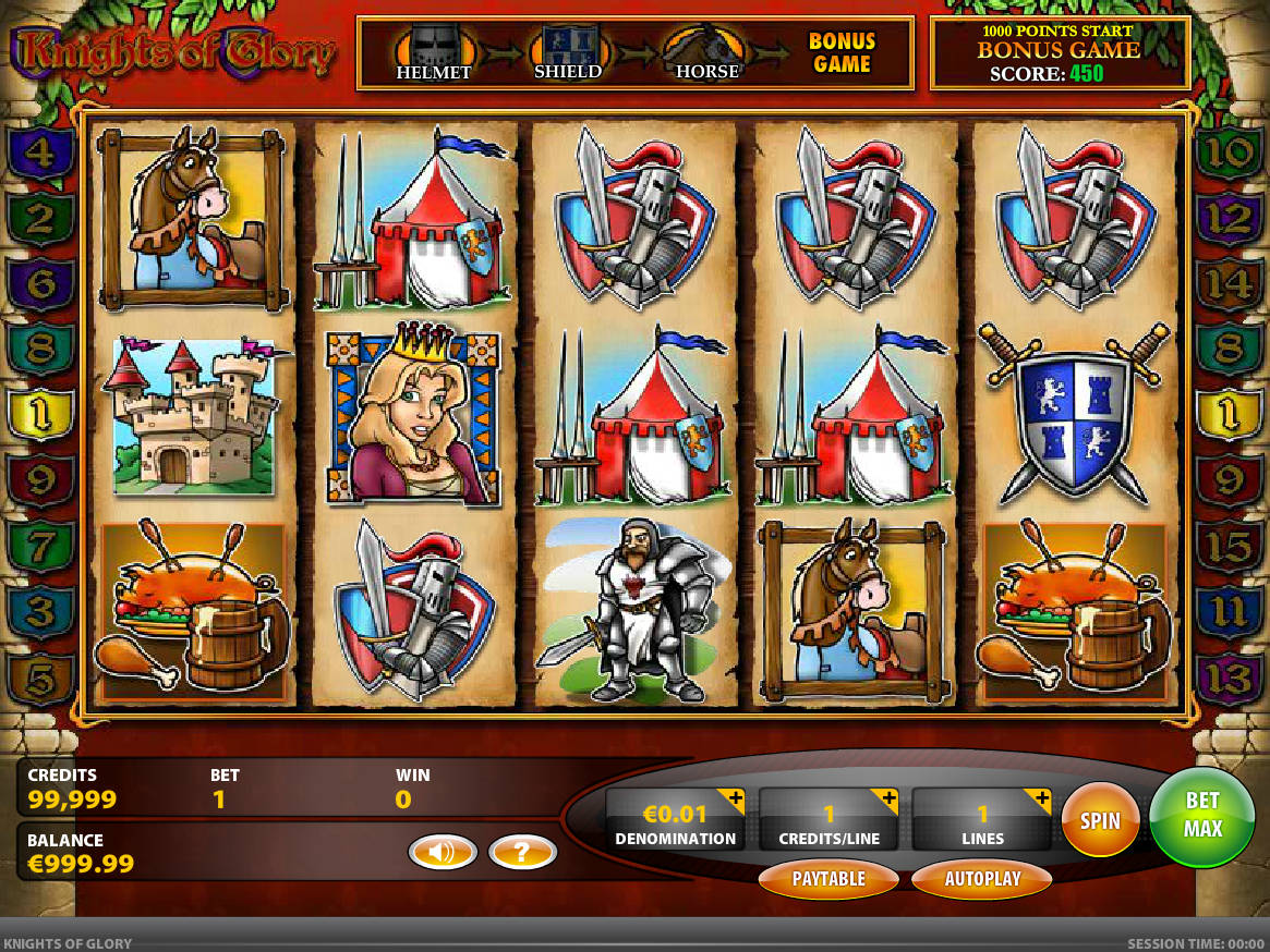 Play Golden Knight Slot Machine Free with No Download