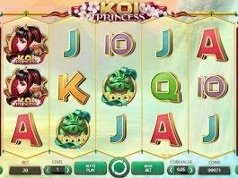 A picture of the casino slot machine Koi Princess