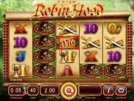 Play free casino game Lady Robin Hood