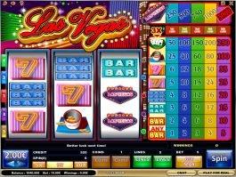 Spin free slot machine Las Vegas