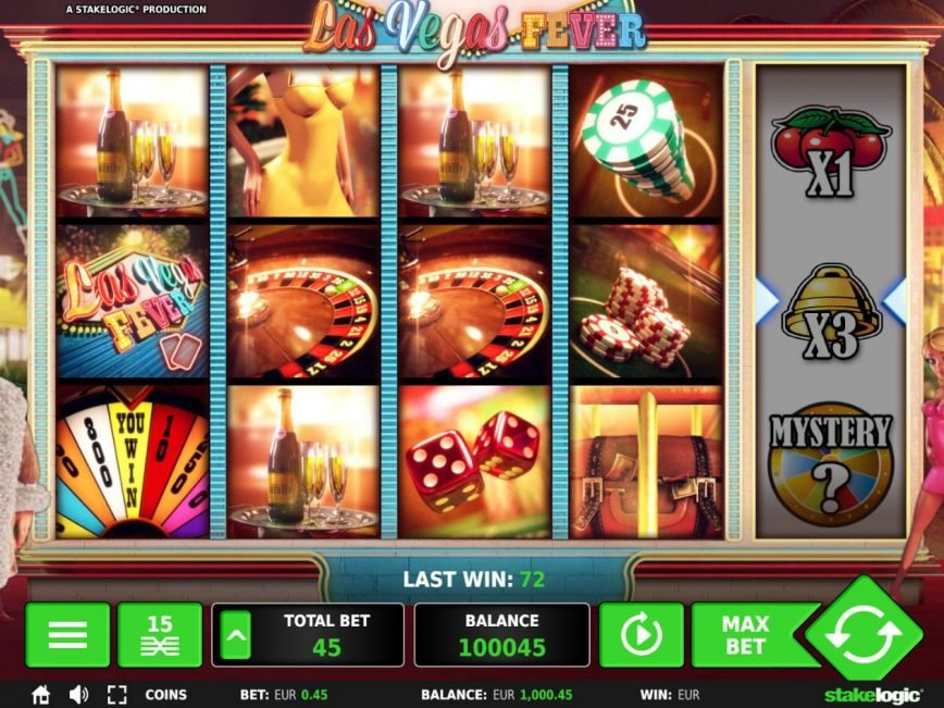 Las Vegas Fever online free slot machine