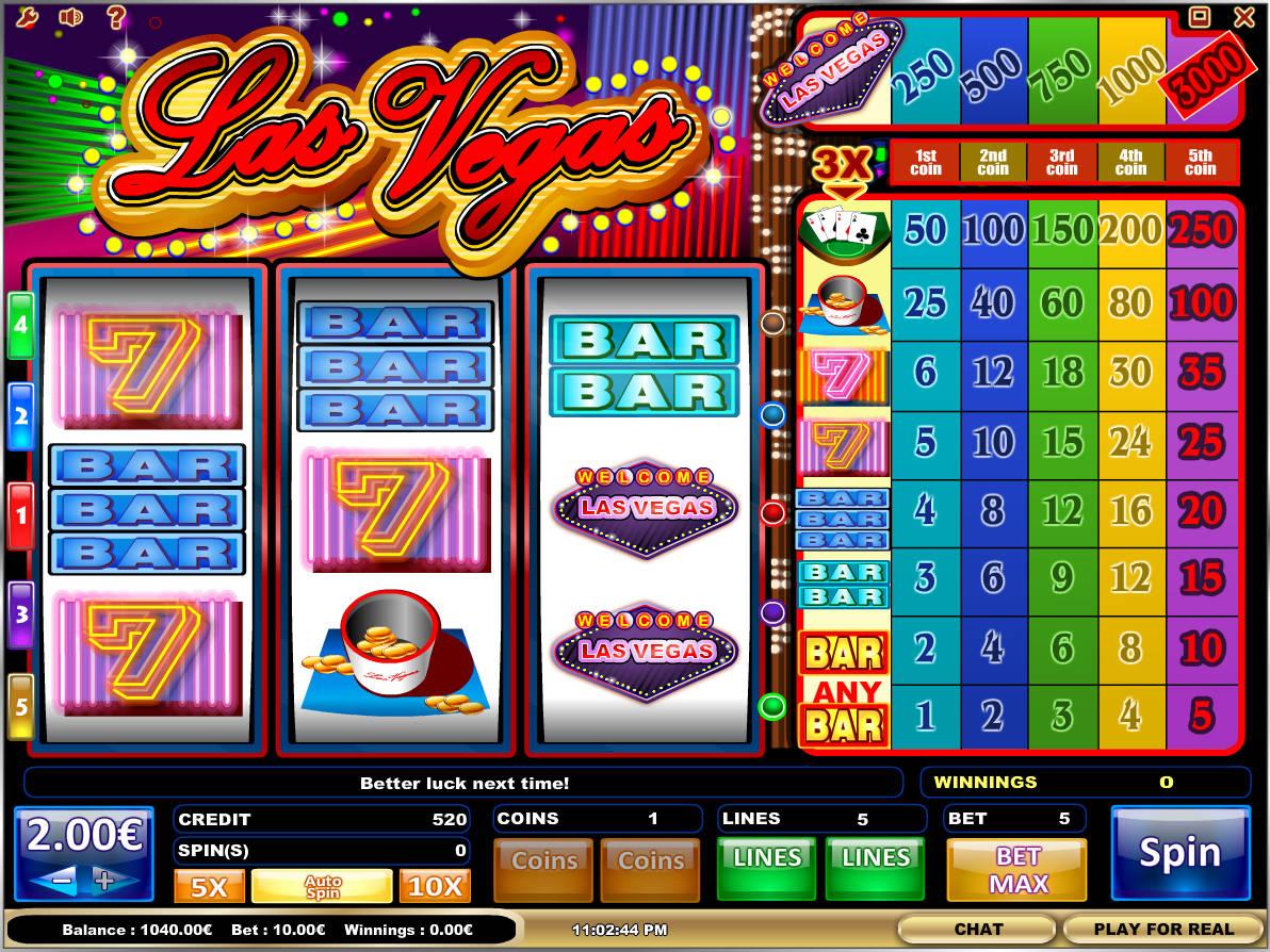 Las Vegas Slots Online Free